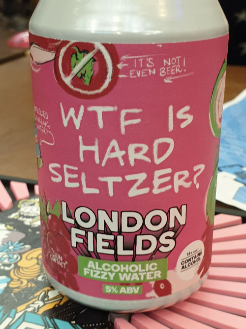 WTF is Hard Seltzer?