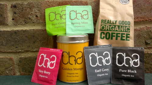 Café de Cuba tea range and award-winning coffee