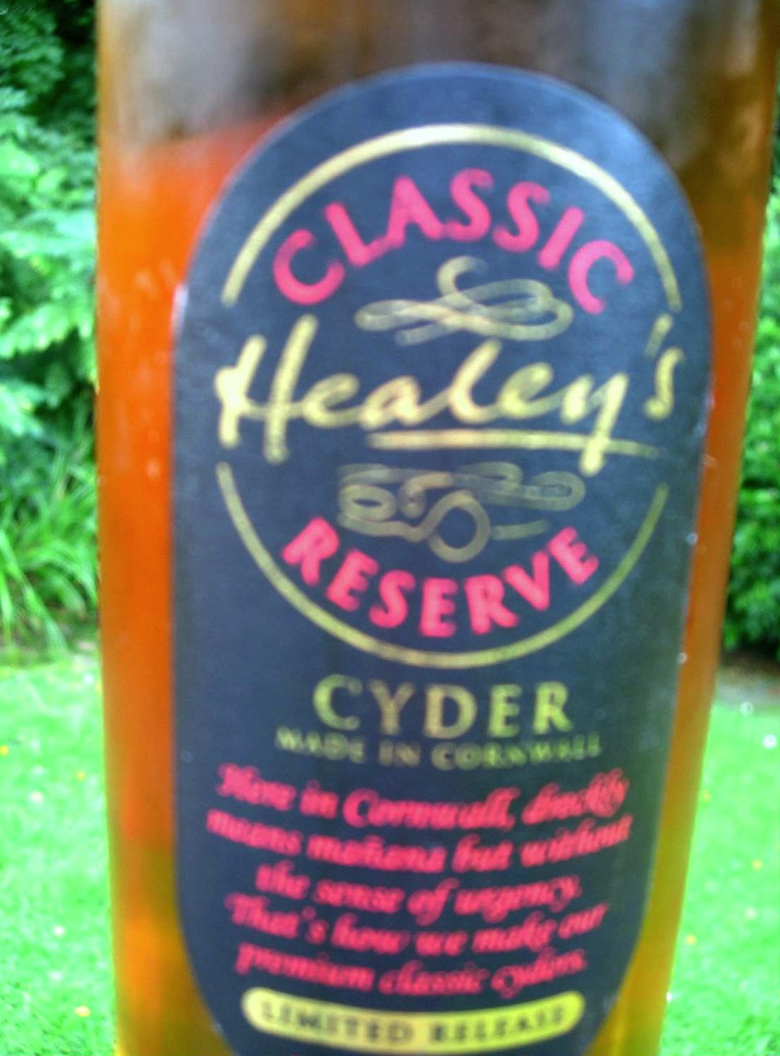 Healy's Classic Reserve Cyder